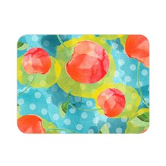 Red Cherries Double Sided Flano Blanket (mini)