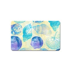 Seashells Magnet (name Card) by DanaeStudio