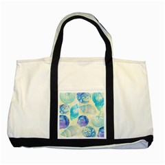 Seashells Two Tone Tote Bag