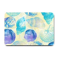 Seashells Small Doormat  by DanaeStudio