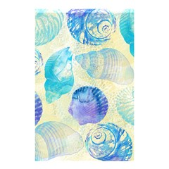 Seashells Shower Curtain 48  X 72  (small)  by DanaeStudio