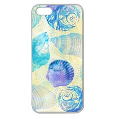 Seashells Apple Seamless Iphone 5 Case (clear) by DanaeStudio