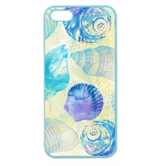 Seashells Apple Seamless Iphone 5 Case (color) by DanaeStudio