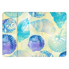 Seashells Samsung Galaxy Tab 8 9  P7300 Flip Case by DanaeStudio