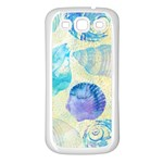 Seashells Samsung Galaxy S3 Back Case (White) Front