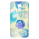 Seashells Samsung Galaxy S5 Back Case (White) Front