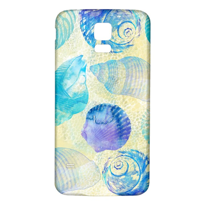 Seashells Samsung Galaxy S5 Back Case (White)
