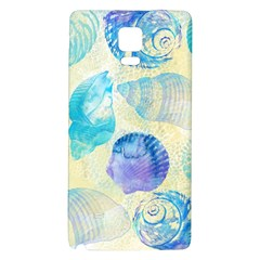 Seashells Galaxy Note 4 Back Case by DanaeStudio