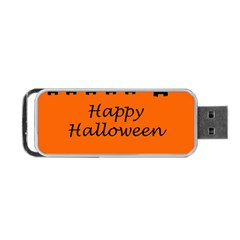 Happy Halloween   Owls Portable Usb Flash (one Side) by Valentinaart
