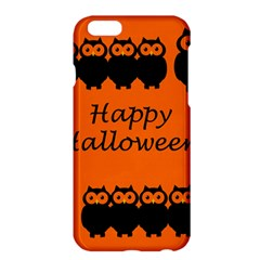 Happy Halloween   Owls Apple Iphone 6 Plus/6s Plus Hardshell Case