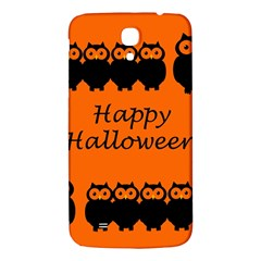 Happy Halloween   Owls Samsung Galaxy Mega I9200 Hardshell Back Case by Valentinaart