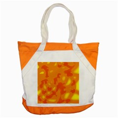 Orange Decor Accent Tote Bag by Valentinaart