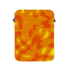 Orange Decor Apple Ipad 2/3/4 Protective Soft Cases by Valentinaart