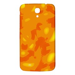 Orange Decor Samsung Galaxy Mega I9200 Hardshell Back Case by Valentinaart