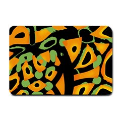 Abstract Animal Print Small Doormat  by Valentinaart