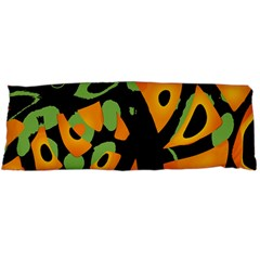Abstract Animal Print Body Pillow Case Dakimakura (two Sides) by Valentinaart