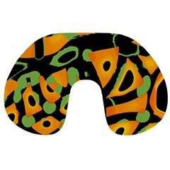Abstract Animal Print Travel Neck Pillows by Valentinaart