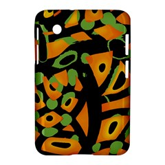 Abstract Animal Print Samsung Galaxy Tab 2 (7 ) P3100 Hardshell Case  by Valentinaart