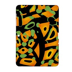 Abstract Animal Print Samsung Galaxy Tab 2 (10 1 ) P5100 Hardshell Case  by Valentinaart