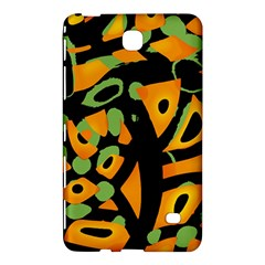 Abstract Animal Print Samsung Galaxy Tab 4 (8 ) Hardshell Case  by Valentinaart