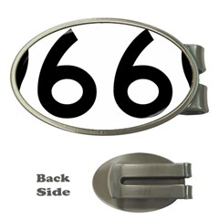 U.S. Route 66 Money Clips (Oval)