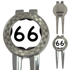 U.S. Route 66 3-in-1 Golf Divots