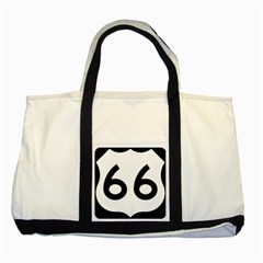 U S  Route 66 Two Tone Tote Bag by abbeyz71