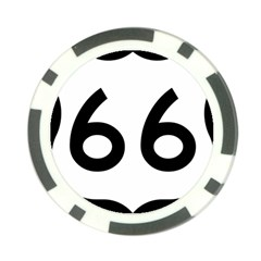 U.S. Route 66 Poker Chip Card Guards (10 pack)