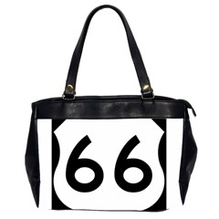 U.S. Route 66 Office Handbags (2 Sides)