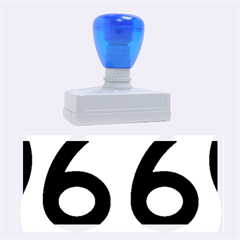 U S  Route 66 Rubber Stamps (large) by abbeyz71