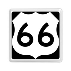U.S. Route 66 Memory Card Reader (Square)