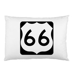 U.S. Route 66 Pillow Case (Two Sides)