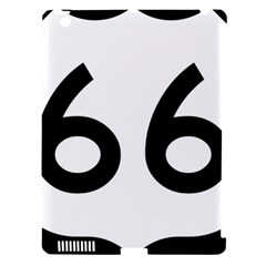 U S  Route 66 Apple Ipad 3/4 Hardshell Case (compatible With Smart Cover) by abbeyz71