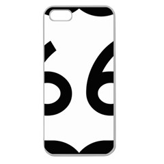 U.S. Route 66 Apple Seamless iPhone 5 Case (Clear)