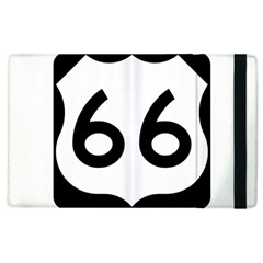 U S  Route 66 Apple Ipad 3/4 Flip Case by abbeyz71