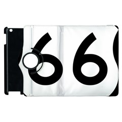 U S  Route 66 Apple Ipad 2 Flip 360 Case by abbeyz71