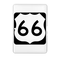 U S  Route 66 Samsung Galaxy Tab 2 (10 1 ) P5100 Hardshell Case  by abbeyz71