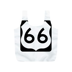 U.S. Route 66 Full Print Recycle Bags (S)