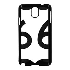 U.S. Route 66 Samsung Galaxy Note 3 Neo Hardshell Case (Black)