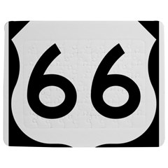 U.S. Route 66 Jigsaw Puzzle Photo Stand (Rectangular)