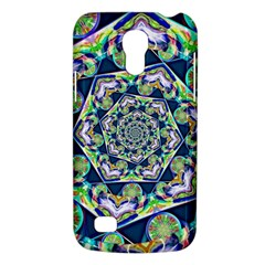 Power Spiral Polygon Blue Green White Galaxy S4 Mini by EDDArt