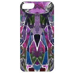 Sly Dog Modern Grunge Style Blue Pink Violet Apple Iphone 5 Classic Hardshell Case by EDDArt