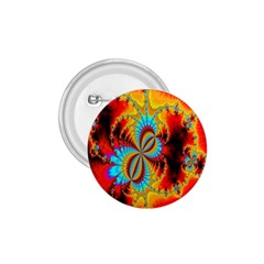 Crazy Mandelbrot Fractal Red Yellow Turquoise 1.75  Buttons