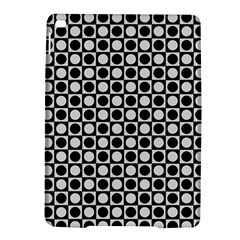 Modern Dots In Squares Mosaic Black White Ipad Air 2 Hardshell Cases by EDDArt
