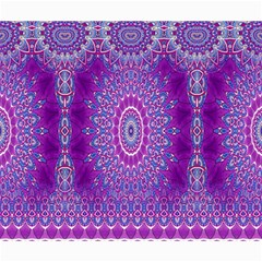 India Ornaments Mandala Pillar Blue Violet Canvas 20  x 24