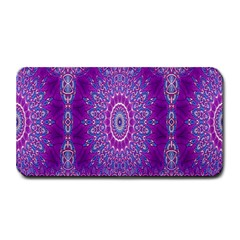 India Ornaments Mandala Pillar Blue Violet Medium Bar Mats