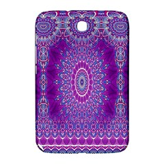 India Ornaments Mandala Pillar Blue Violet Samsung Galaxy Note 8.0 N5100 Hardshell Case