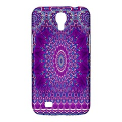 India Ornaments Mandala Pillar Blue Violet Samsung Galaxy Mega 6.3  I9200 Hardshell Case