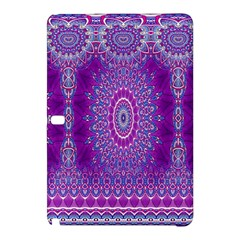 India Ornaments Mandala Pillar Blue Violet Samsung Galaxy Tab Pro 10.1 Hardshell Case