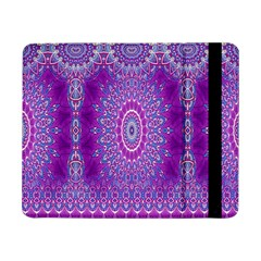India Ornaments Mandala Pillar Blue Violet Samsung Galaxy Tab Pro 8.4  Flip Case